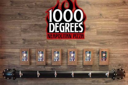 Self Serve Beer wall at our Miami Lakes 1000 Degrees Franchise store