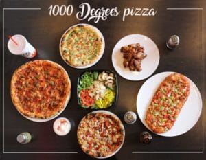 set your oven a blaze with 1000 degrees pizza franchise!